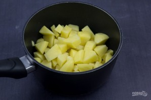 Картофельное пюре с беконом - фото шаг 1