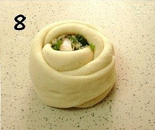 Пирожки Розочки - фото шаг 8