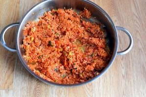 Рис с томатной пастой - фото шаг 4