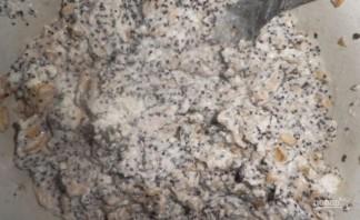 Низкокалорийные сырники в духовке - фото шаг 3