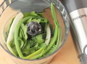 Сметанный соус с зеленью - фото шаг 1