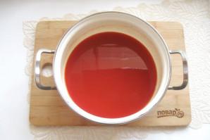 Лечо из кабачков и перцев с томатной пастой - фото шаг 4