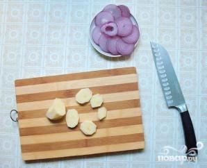 Конгрио с картофелем - фото шаг 2