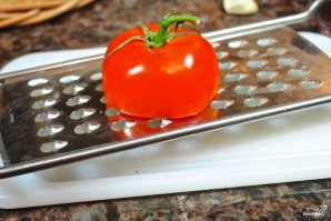 Тосты с помидорами - фото шаг 3