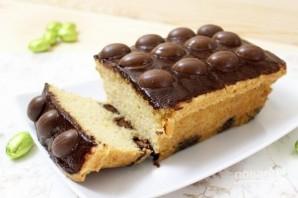 Пасхальный кекс с шоколадными яйцами - фото шаг 10