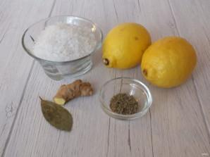 Соленые лимоны - фото шаг 1