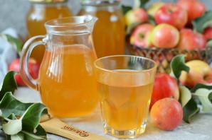 Яблочный сок на зиму - фото шаг 10
