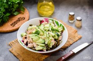 Салат с морской капустой - фото шаг 4