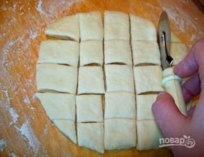Пампушки с чесноком для борща - фото шаг 3
