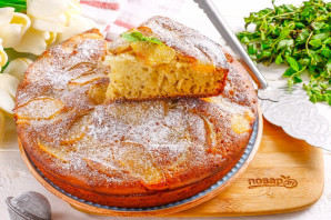 Пирог с айвой на кефире - фото шаг 10