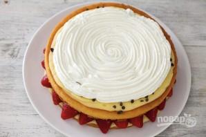 Начинка для бисквитного торта - фото шаг 6