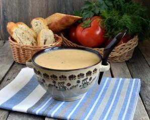 Пикантный суп-пюре с консервированной фасолью - фото шаг 7