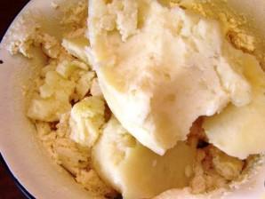 Осетинский пирог с сыром и картофелем - фото шаг 3