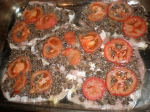 Мясо по-французски с грибами и помидорами - фото шаг 5