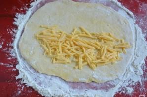 Чебуреки с сыром - фото шаг 5