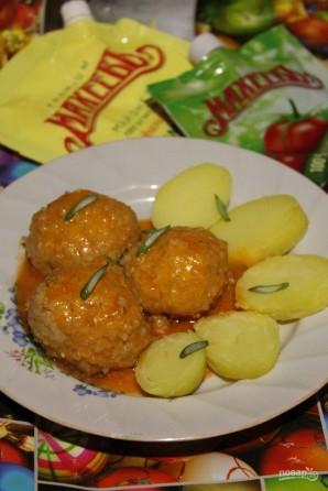 Рыбные тефтели в томатно-майонезном соусе - фото шаг 10