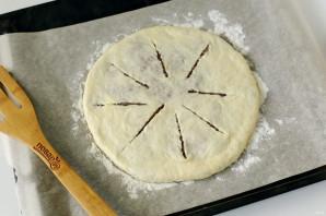 Мясной осетинский пирог - фото шаг 11
