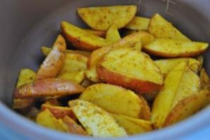 Картошка по-селянски в мультиварке - фото шаг 5