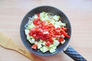 Овощное рагу со стручковой фасолью и кабачками - фото шаг 6