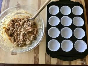 Маленькие кексы в формочках - фото шаг 2