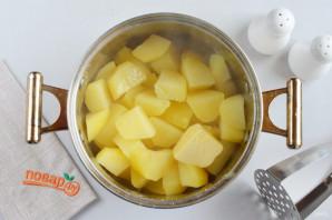 Фаршированные картофельные оладьи - фото шаг 5