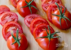 Закуска из помидоров с сыром - фото шаг 2