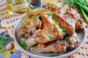 Куриные крылышки в медово-чесночном маринаде - фото шаг 6