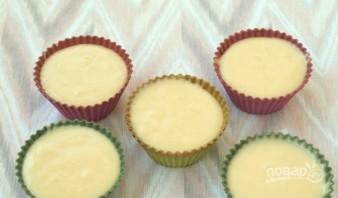 Кекс в формочках на кефире - фото шаг 6
