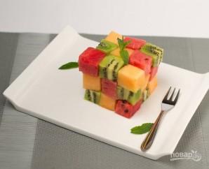 Салат из свежих фруктов - фото шаг 4