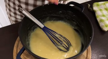 Ганаш для украшения торта - фото шаг 2