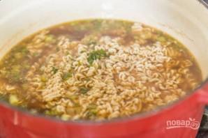 """Быстрый суп """"Рамен"""" - фото шаг 4"""