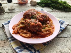 """Спагетти с фаршем """"Дедушкины усы"""" - фото шаг 7"""