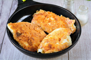 Пирожки с плавленным сыром - фото шаг 10