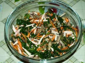 Салат из вешенок - фото шаг 11