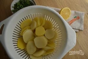 Рыба в сливочном соусе с картофелем - фото шаг 2