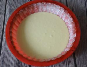 Заливной пирог с творогом - фото шаг 10