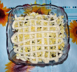 "Салат с печенью ""Ермак"" - фото шаг 5"