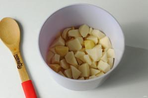 Борщ со стручковой фасолью - фото шаг 4