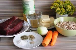 Рагу из говядины с белой фасолью - фото шаг 1