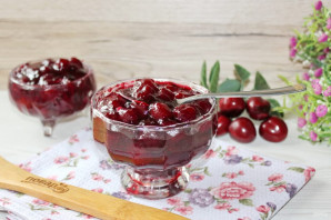 Варенье из вишни с агар-агаром
