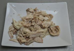 Суп с чесночными клецками - фото шаг 9