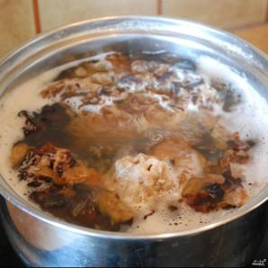 Картошка со сморчками в духовке - фото шаг 2