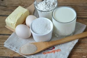 Сладкое дрожжевое тесто - фото шаг 1