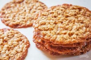 Тонкое овсяное печенье - фото шаг 7
