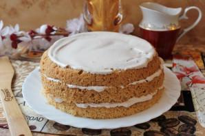 Пышный бисквит для торта - фото шаг 12