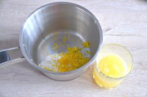 Лимонный торт с белковым кремом - фото шаг 10