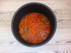 Килька в томатном соусе в мультиварке - фото шаг 6