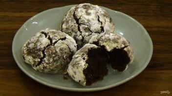 Печенье шоколадно-мятное - фото шаг 4