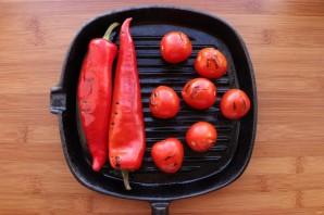 Овощи на сковороде-гриль - фото шаг 7