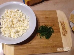 Закуска из крекеров с брынзой - фото шаг 2
